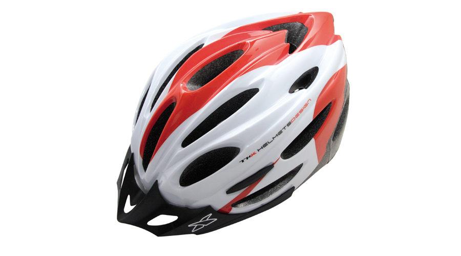 Κράνος Ποδηλασίας Racing Tkx  MV-26 white red
