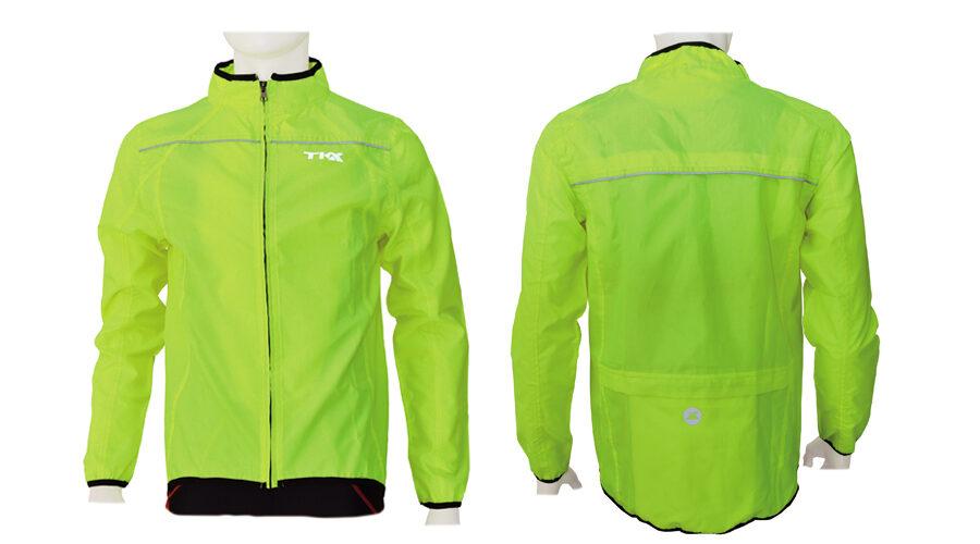 Αδιάβροχο Ποδηλασίας Tkx yellow - Medium