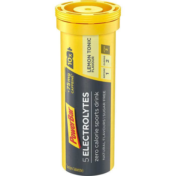 PowerBar 5 Electrolytes 10 ταμπλέτες Λεμόνι, τονωτική ενίσχυση