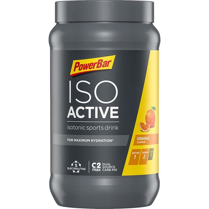 Powerbar Isoactive 600 gr Πορτοκάλι