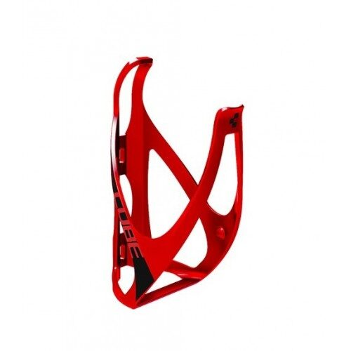 CUBE BOTTLE CAGE Red