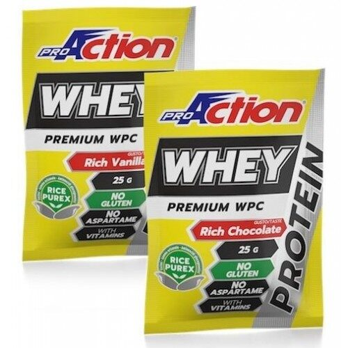 Pro Action Whey Protein 25gr- Σοκολάτα