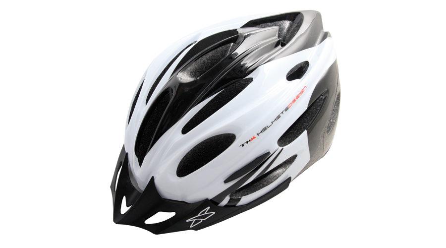 Κράνος Ποδηλασίας Racing Tkx MV-26 white black