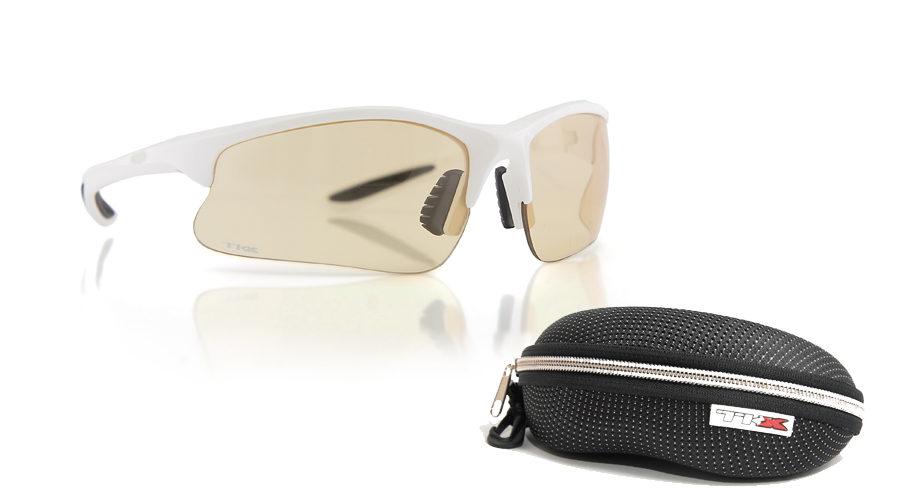 Γυαλιά Ποδηλασίας Tkx TR90 Photocromic Lens white