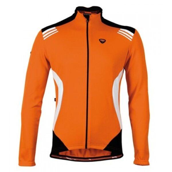 Μπλούζα με μακρύ μανίκι Bicycle Line. IMPETO πορτοκαλί Medium