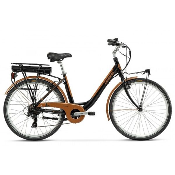 "Lombardo Levanzo City E-Bike 26"" Black/Copper"