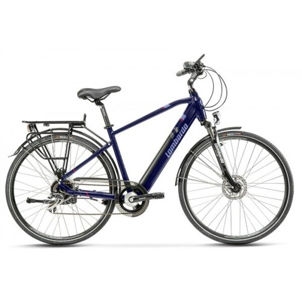 "Lombardo Viterbo E-Bike 28"" Uomo Night Blue Matt"