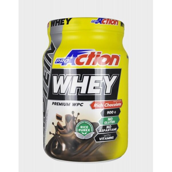 Pro Action Whey Protein 900gr- Σοκολάτα