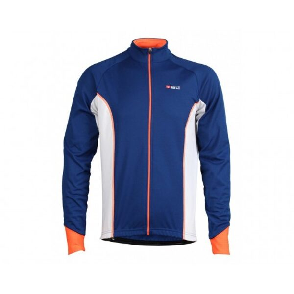 Μπλούζα με μακρύ μανίκι Bicycle Line Ritmo μπλε Medium