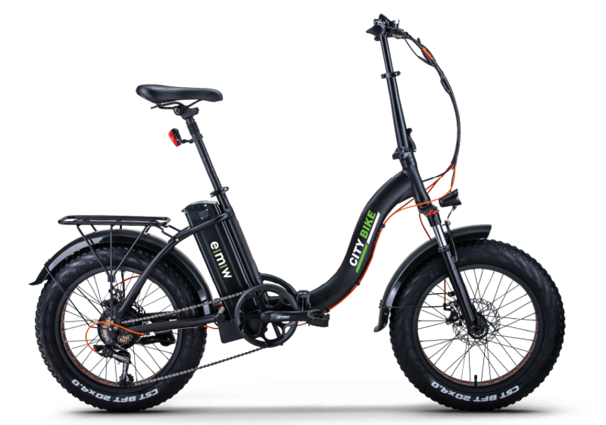 EMW City Bike FAT Tyres 20 ιντσών Σπαστό